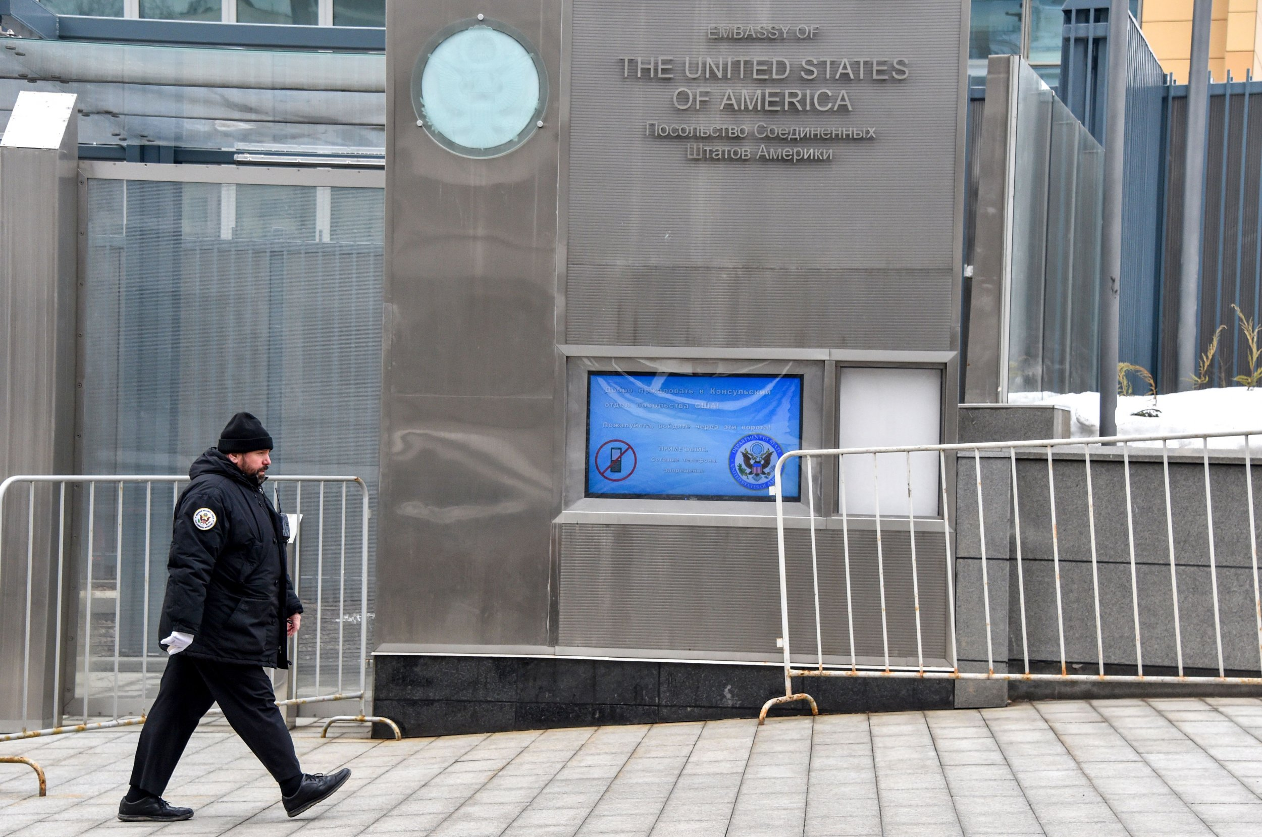 US Embassy in Moscow DiplomatsExpelled