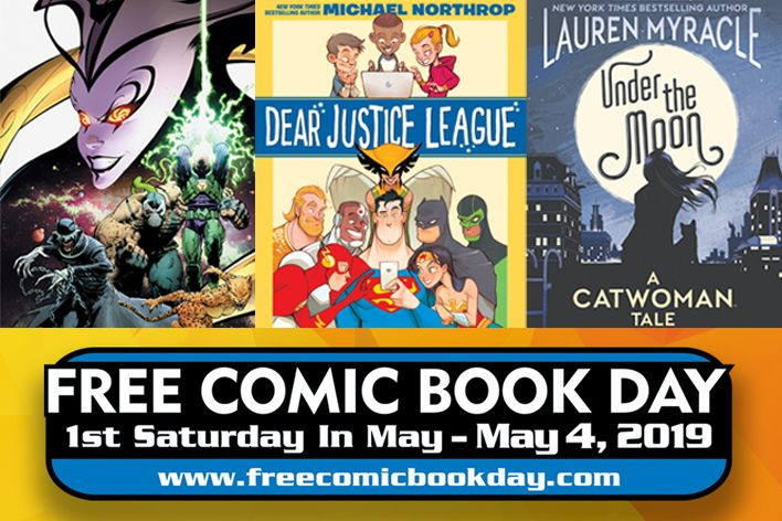 dc comics free comic book day 2019 year of the villain under the moon dear justice league