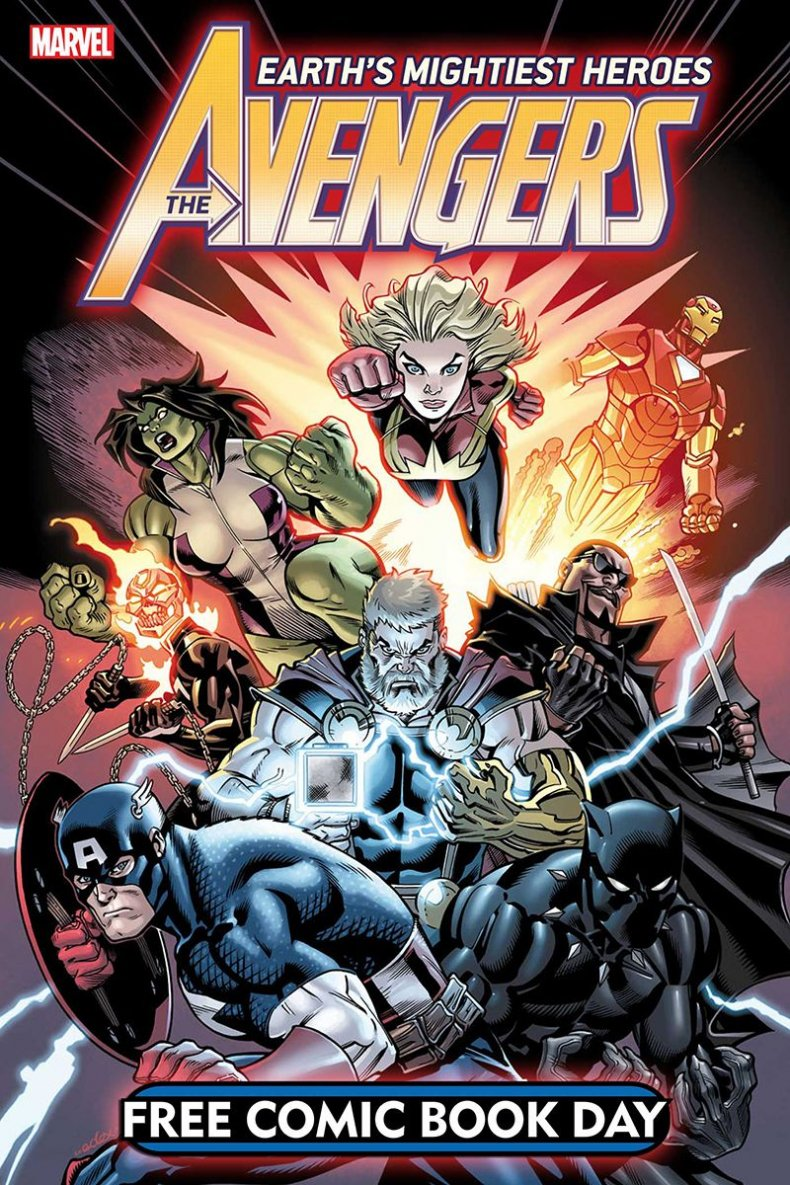 marvel comics avengers 1 free comic book day 2019