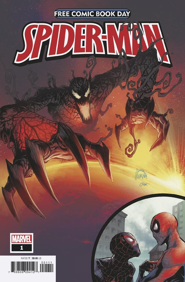 marvel comics spiderman free comic book day 2019 absolute carnage