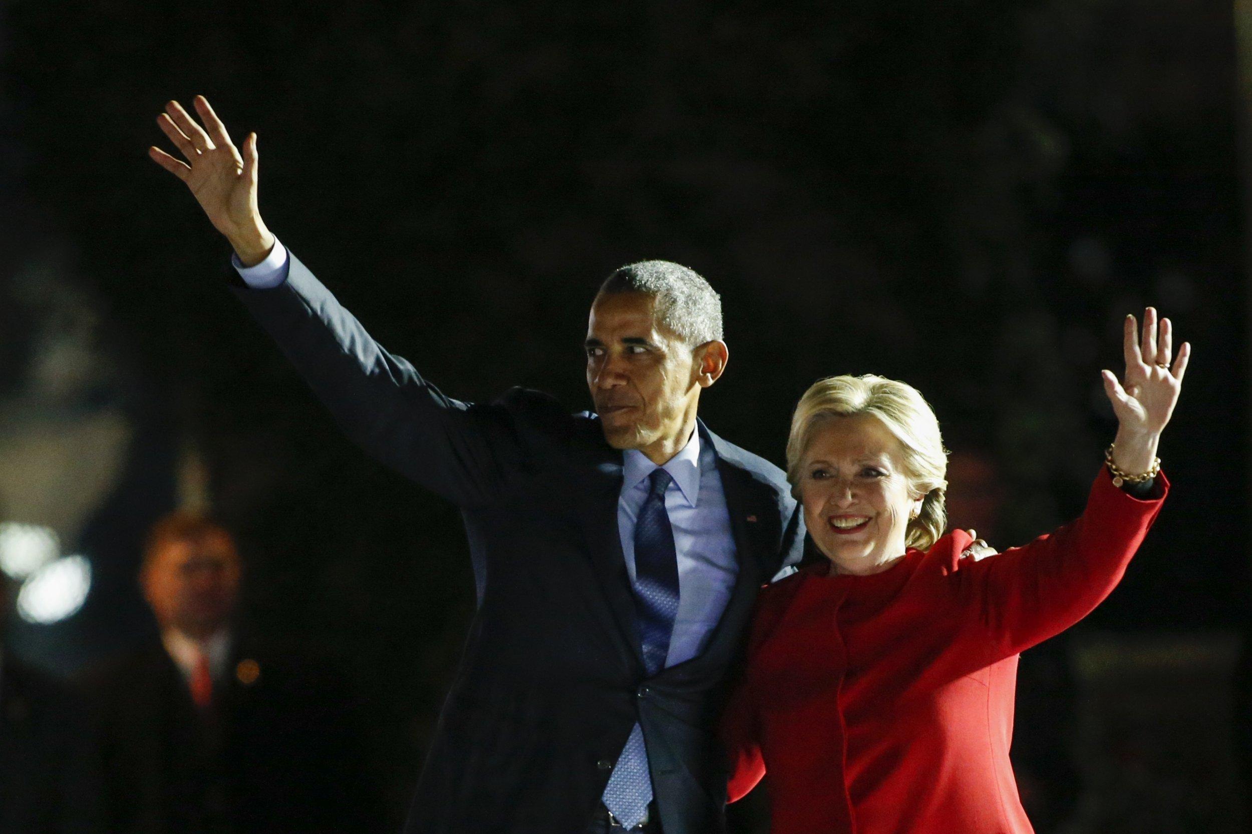 Barack Obama Hillary Clinton