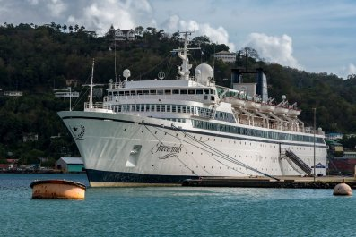 Freewinds Scientology cruise ship measles