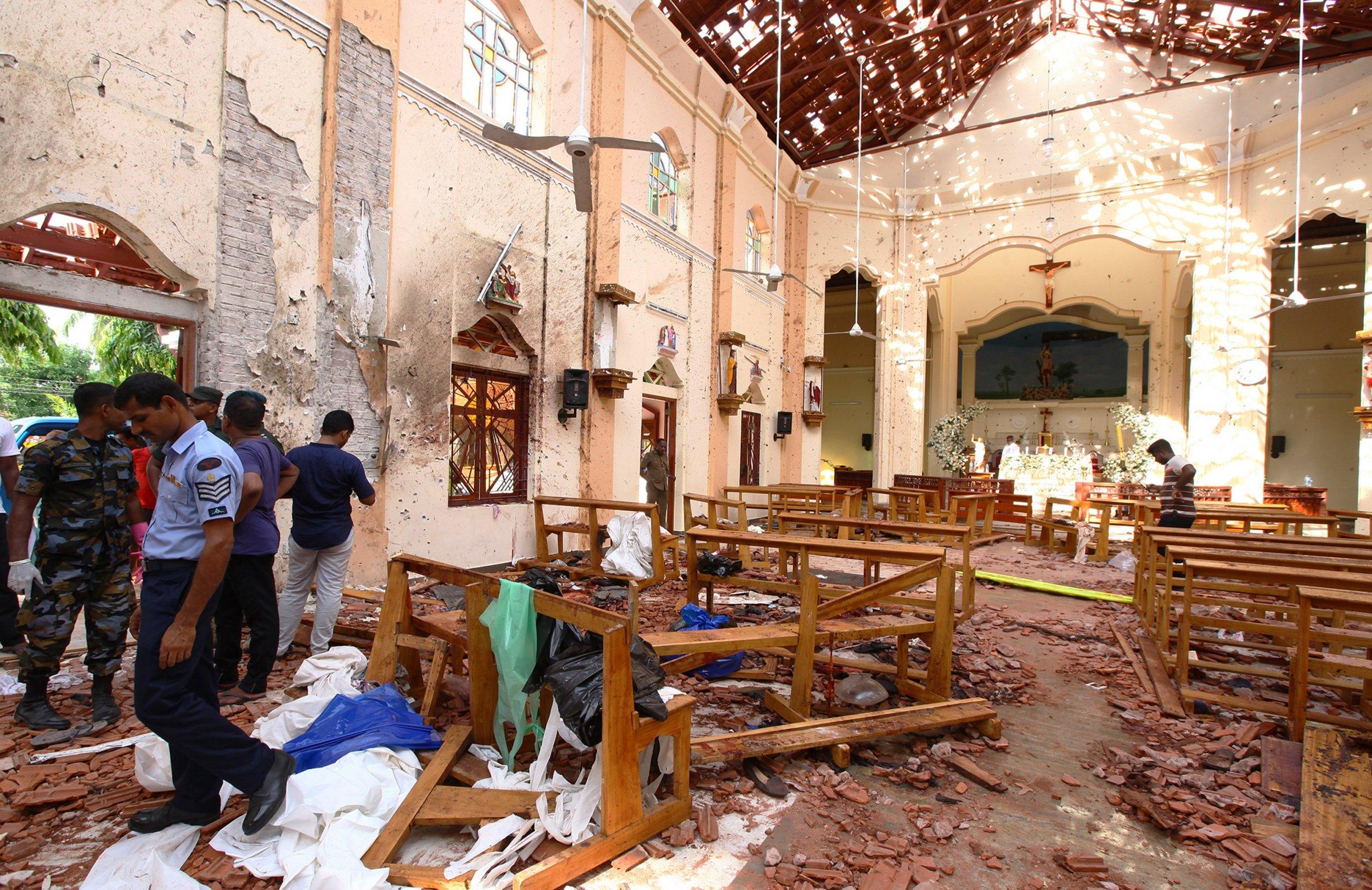 persecution christians sri lanka church attacks
