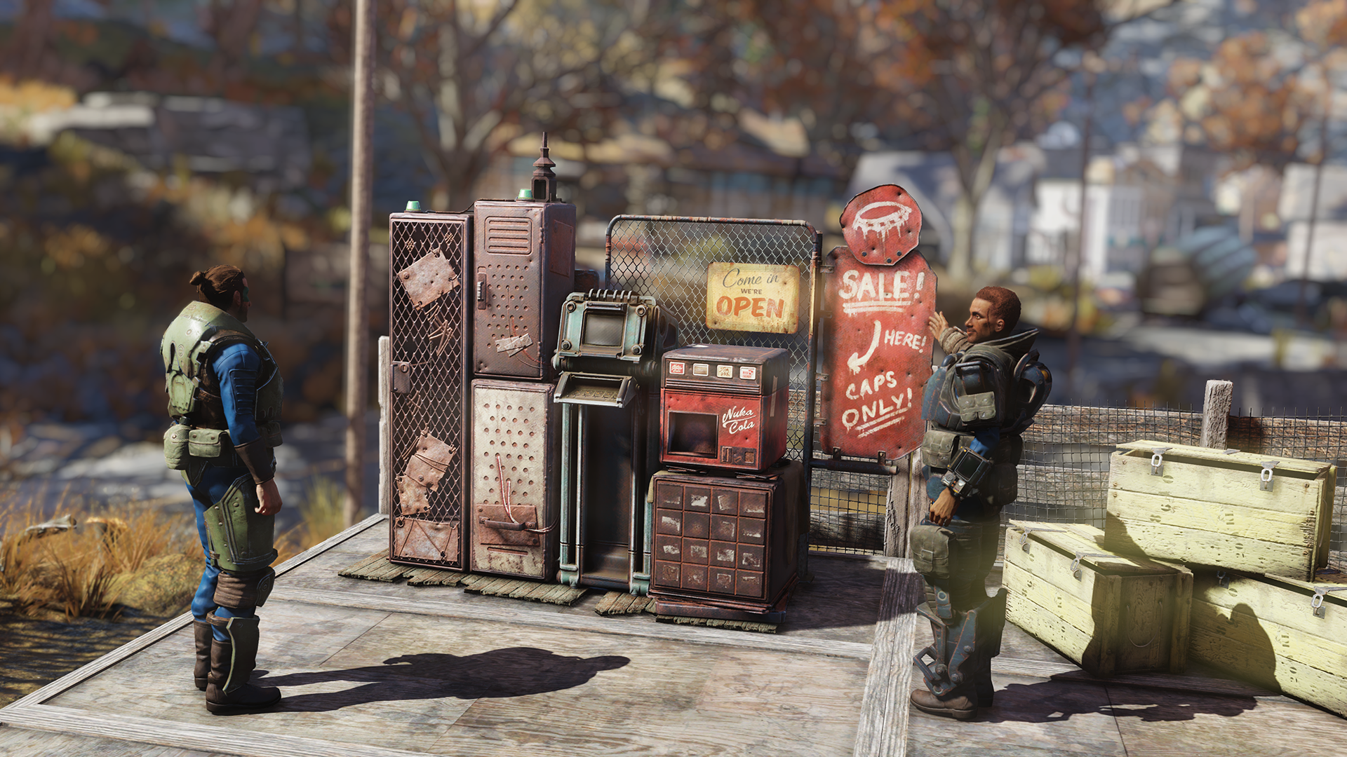 Fallout 76' Patch 9 Update: Vending Machines and How to Get