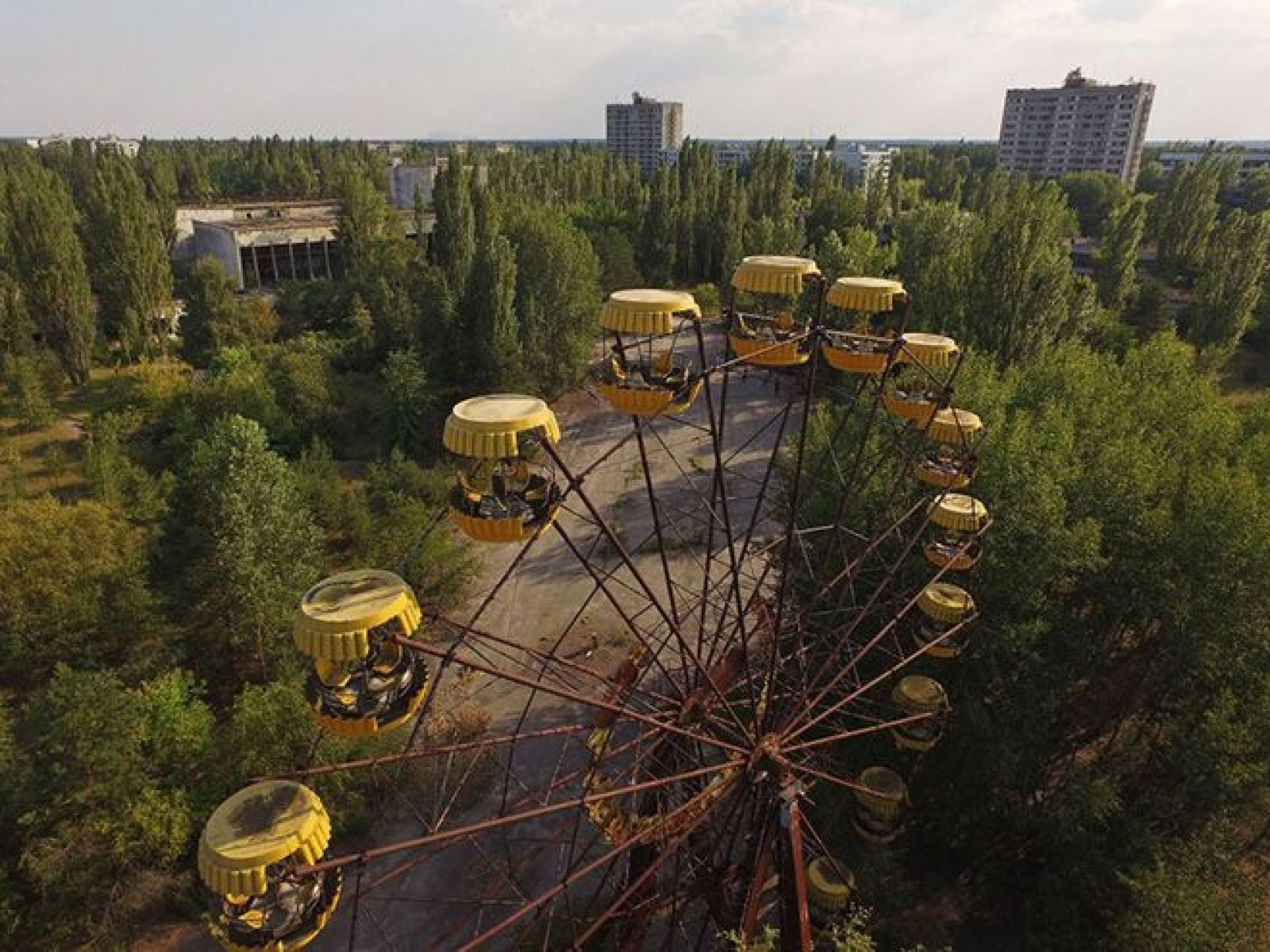 Are Tourists Safe For Chernobyl? As Danger Drops, Problems Rise