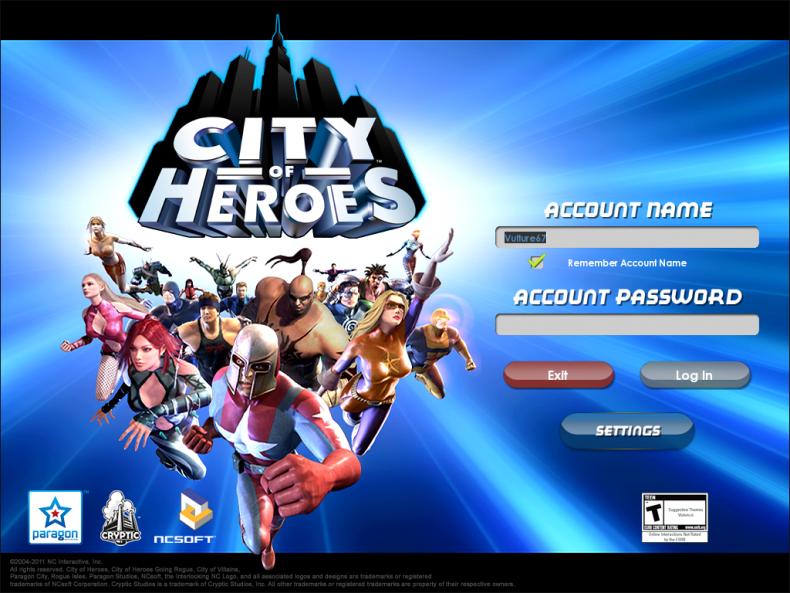 City of heroes launcher