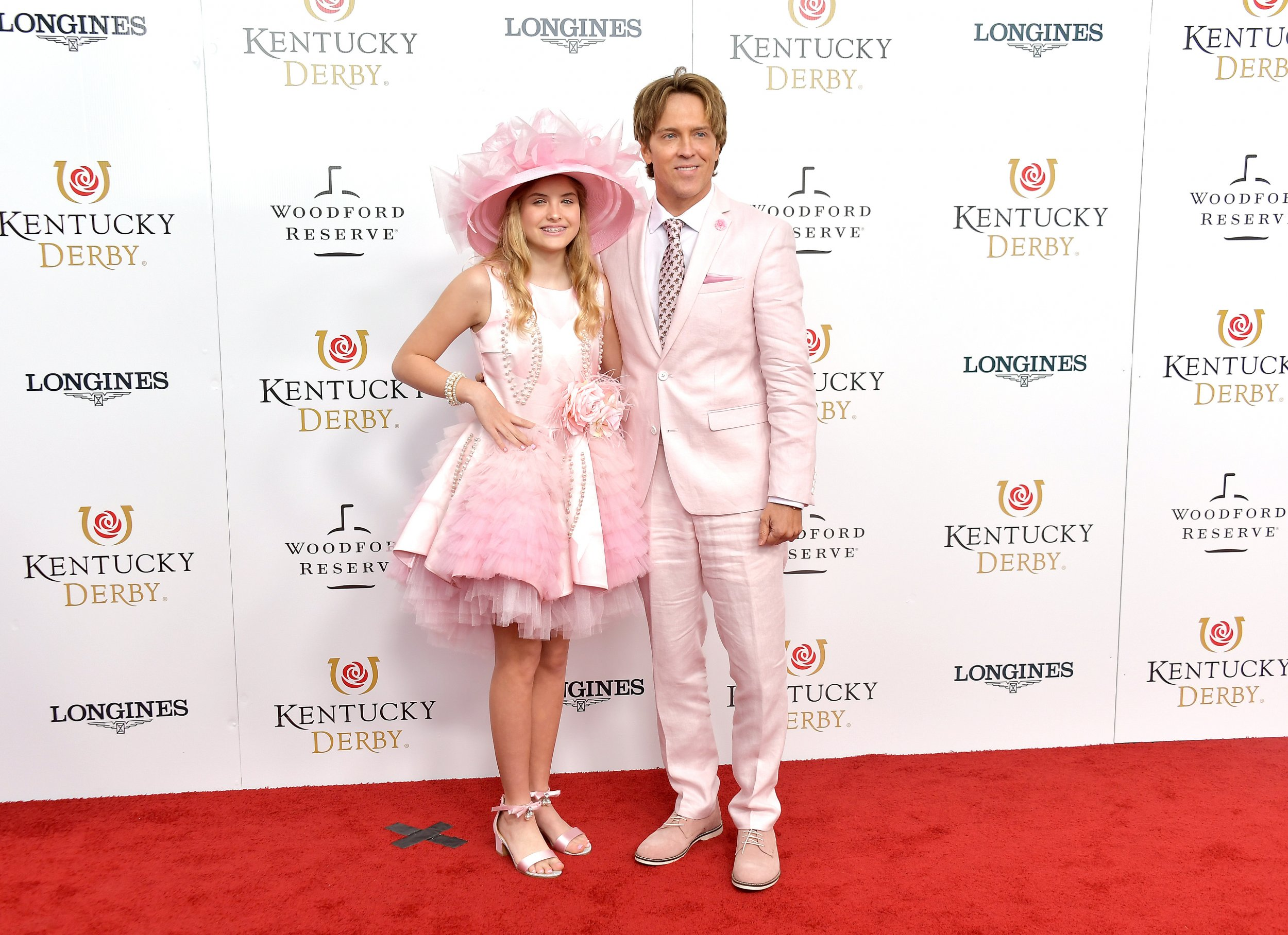 47f63bea60ad2 Dannielynn Birkhead and Larry Birkhead attend the 145th Kentucky Derby at  Churchill Downs on Saturday in Louisville