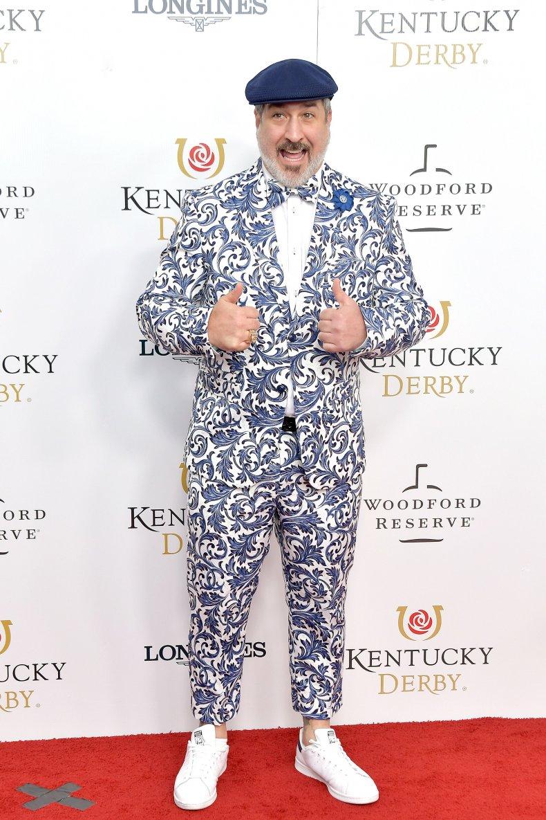 joey fatone kentucky derby