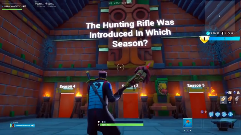 Fortnite Creative 6 Best Map Codes Quiz Zombie Bitesize Battle For May 2019