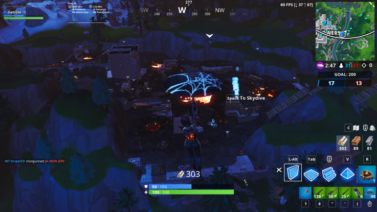 Fortnite Loot Lake Unvaulting Event Destroys Tilted Towers Retail