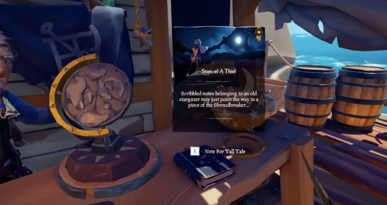Sea, of, thieves, stars, of, a, thief, tall, tale, guide, how, to, start, find, enchanted, spyglass, star, jewels, vault, puzzles, shroudbreaker, island, locations