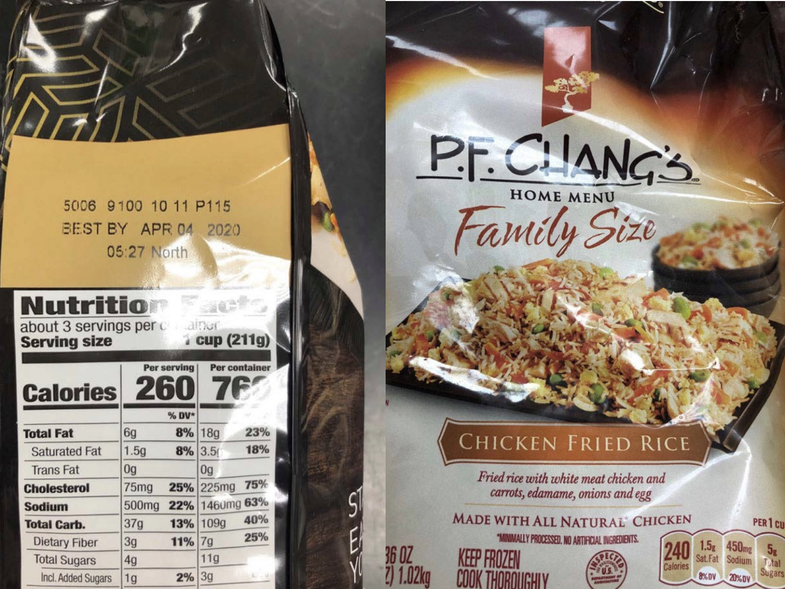 Best Frozen Pizza 2020 Nearly 2.1 Million Pounds of P.F. Chang's Frozen Dinners Recalled