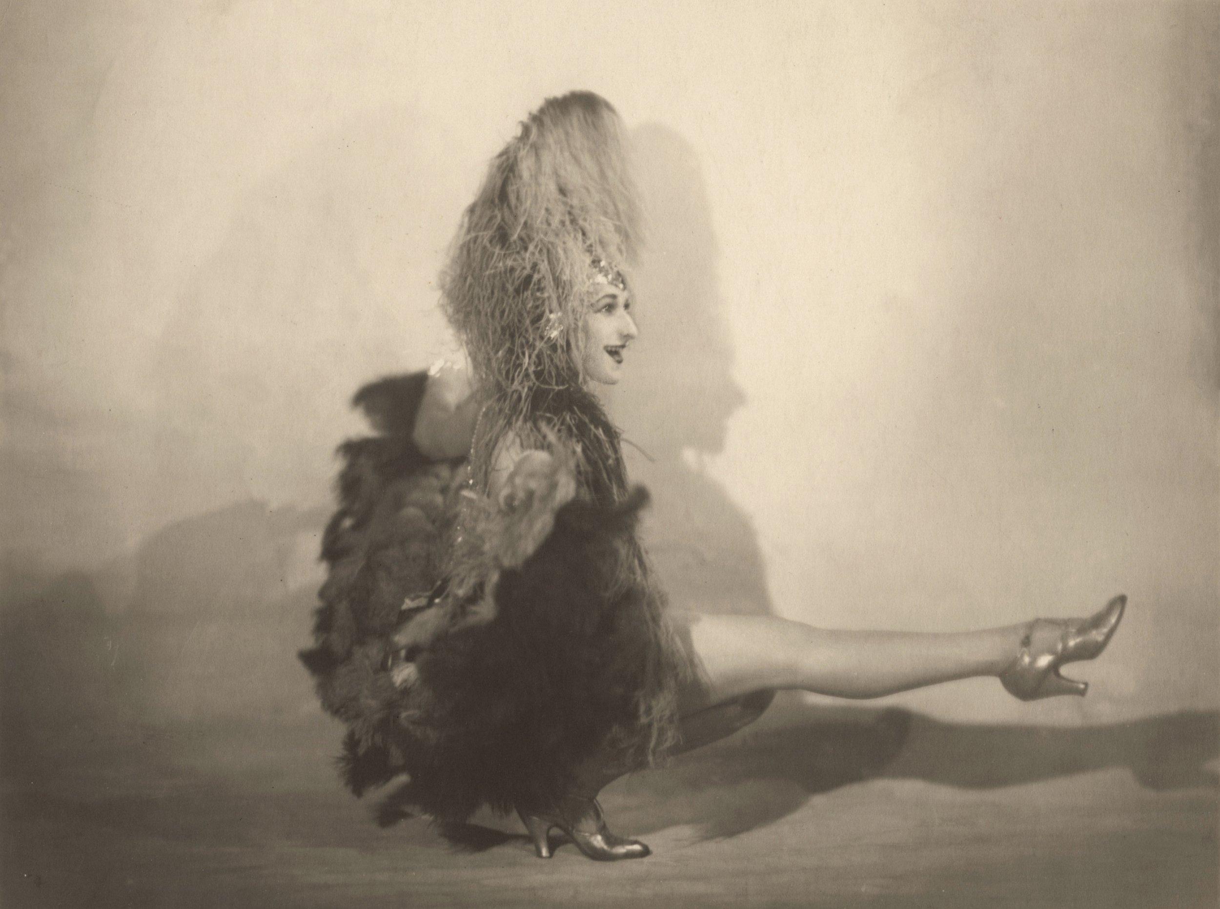 Teddy Caisser, a.k.a. Mademoiselle Sousette, circa. 1920.