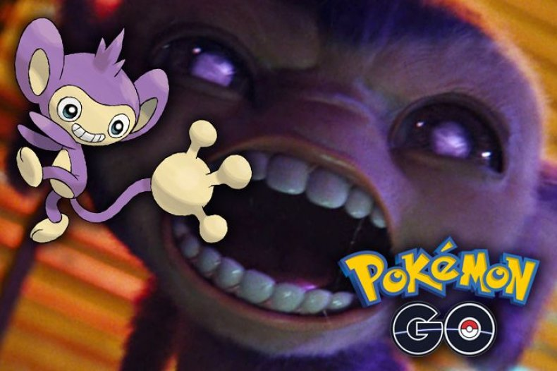 detective_pikachu shiny aipom pokemon go update event
