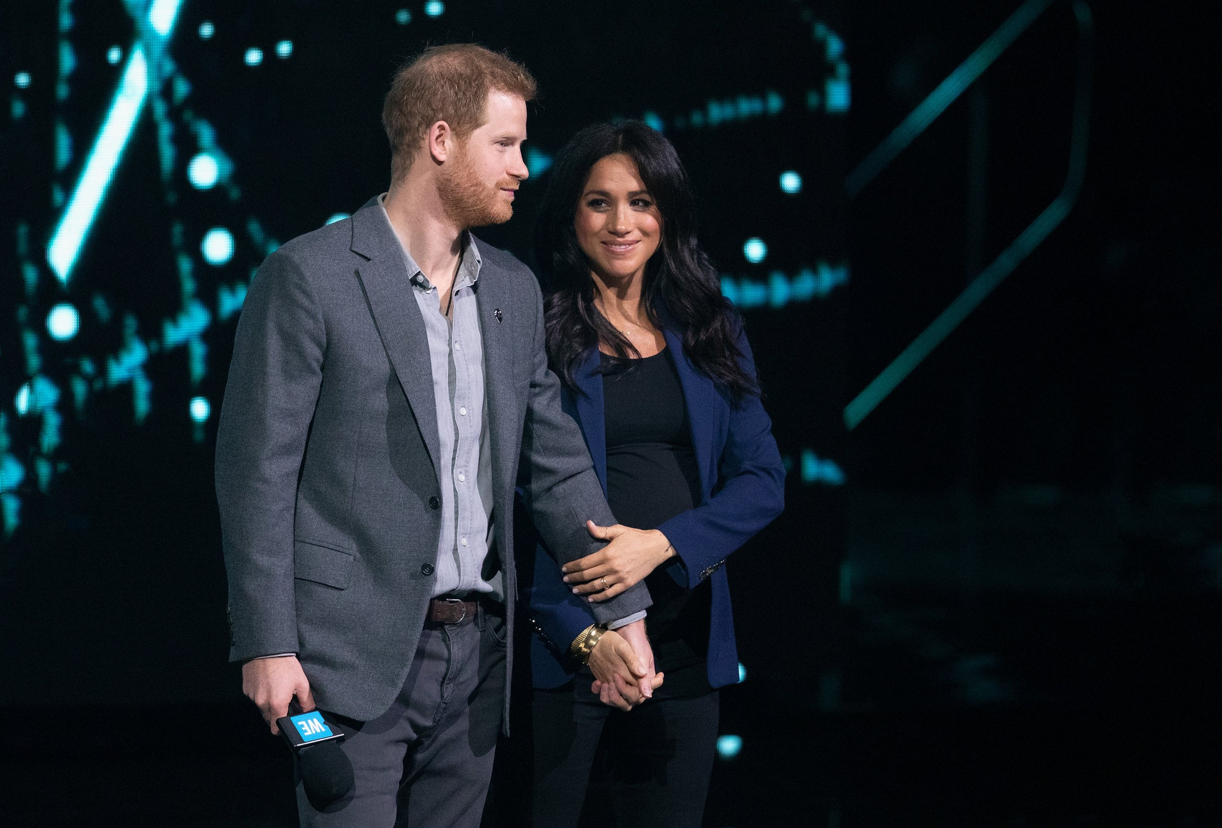 Royal baby: Duchess of Sussex goes into labour