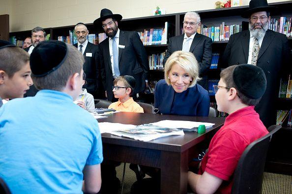 Betsy DeVos Visits Yeshiva in Queens