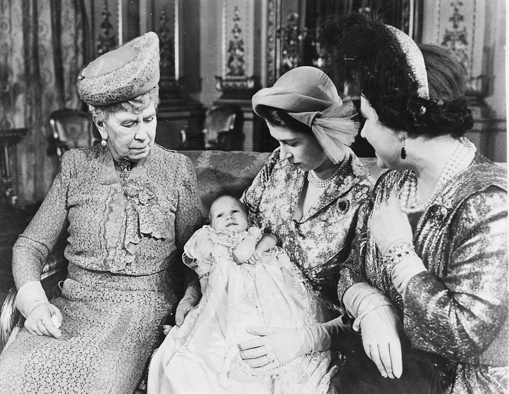 2 Royal Babies - Princess Anne 1950