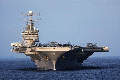 USS Abraham Lincoln Iran Middle East Navy John Bolton