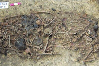 mass grave poland