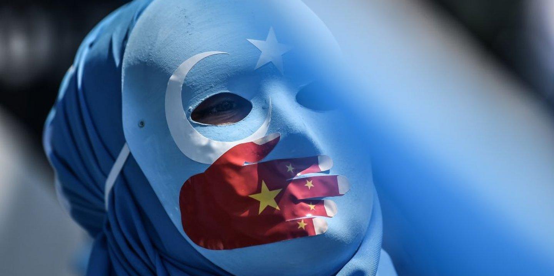 Uyghur protest