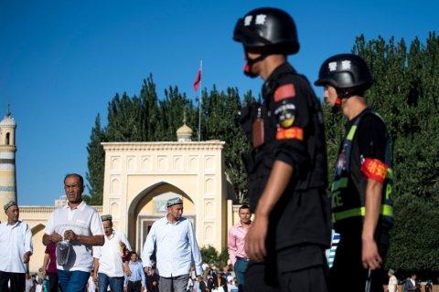 Mosque police Xinjiang