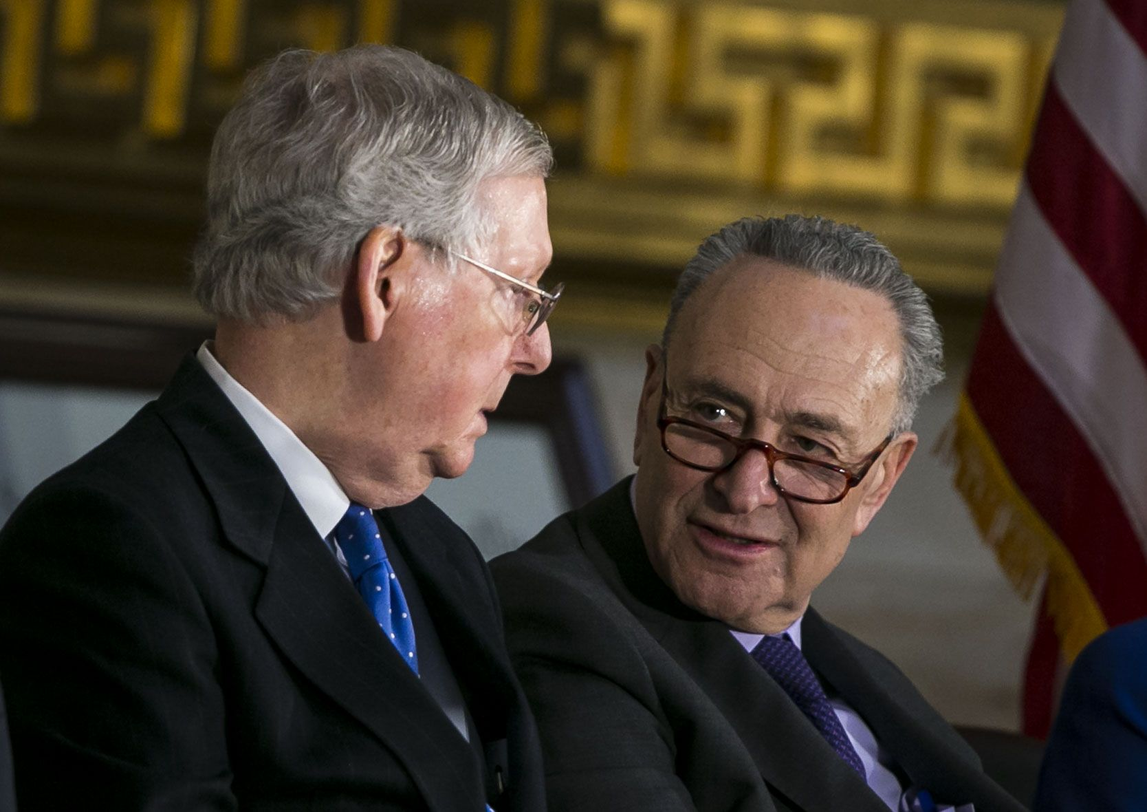 Chuck Schumer, Rebukes, Mitch McConnell, Mueller report