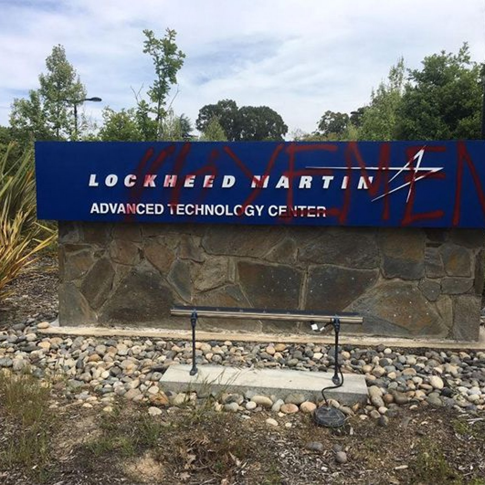 How One Protester Made Sure Lockheed Martin Never Forgets Its Role