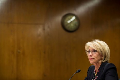 Betsy DeVos education budget