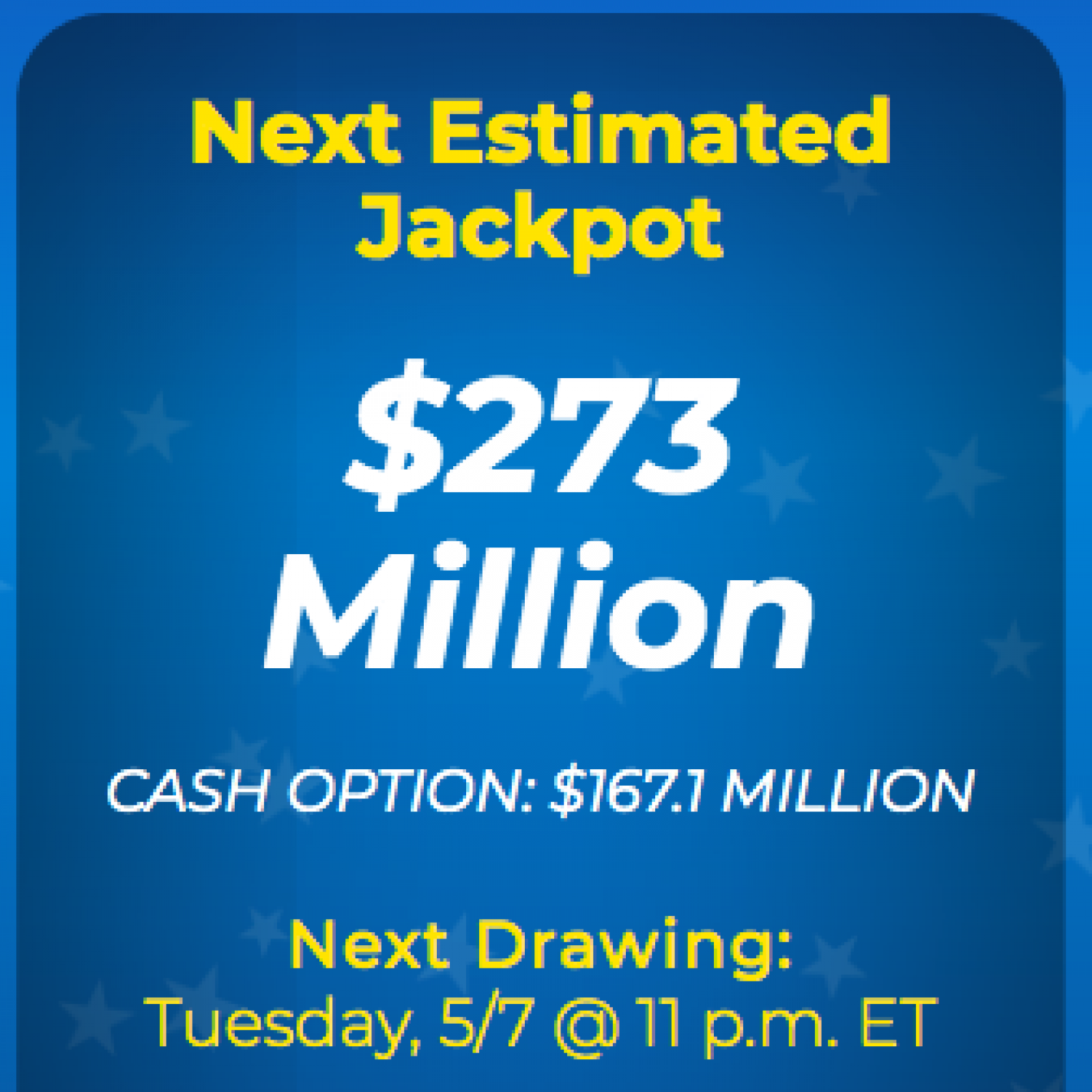 Mega Millions Jackpot Results Numbers For Tuesday Night 5 7 2019