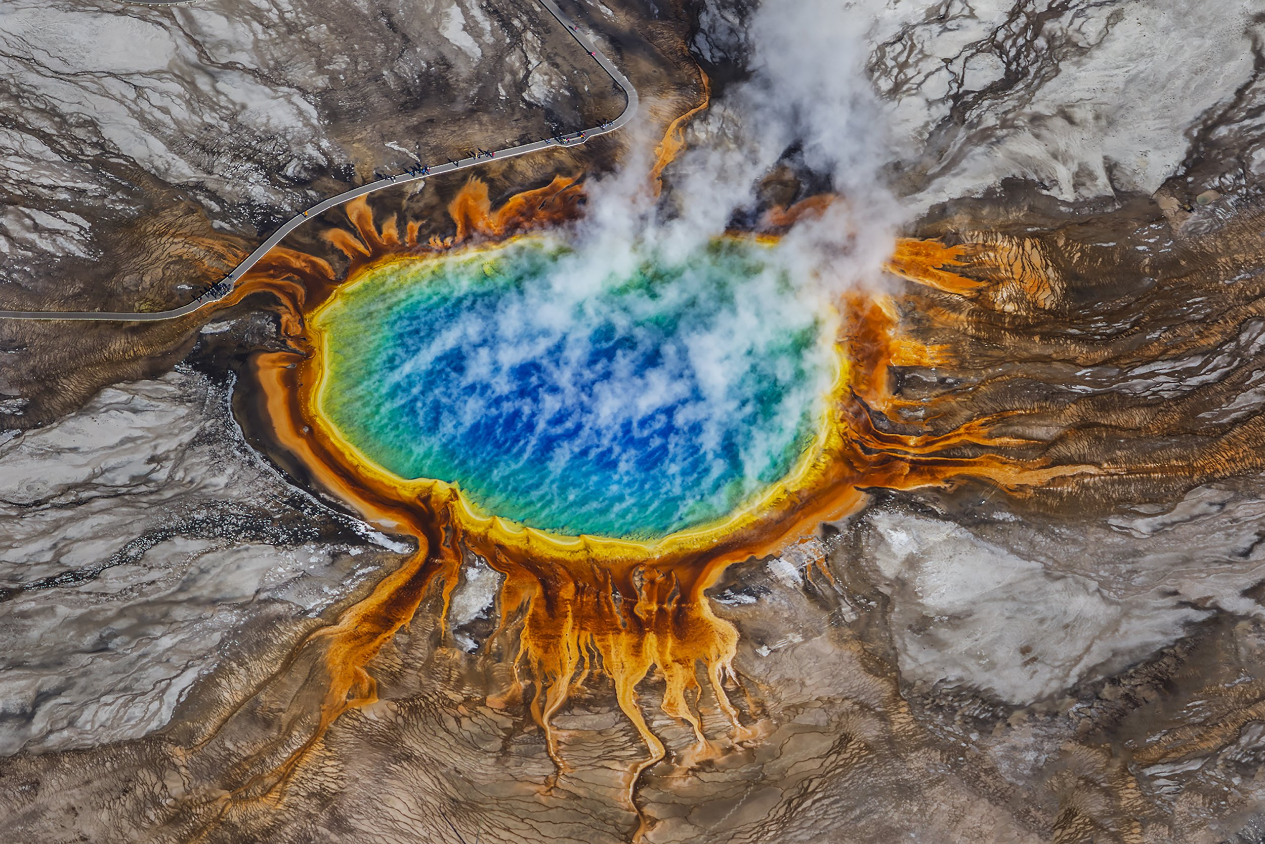 Yellowstone Park Vulkan