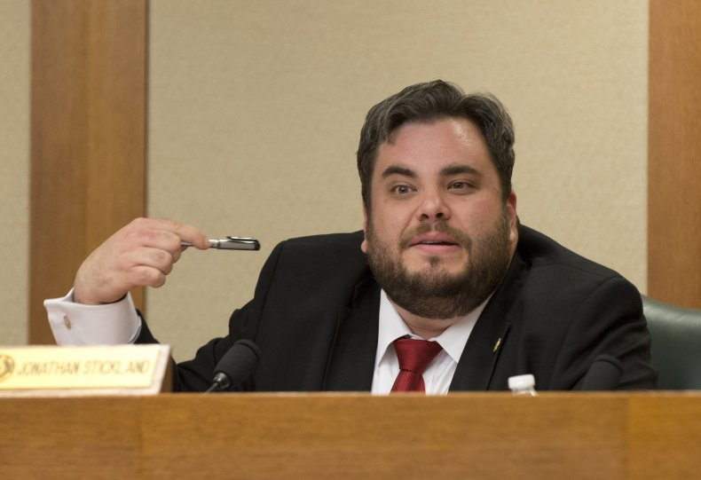 Texas Rep Jonathan Stickland anti-vaxx vaccination sorcery