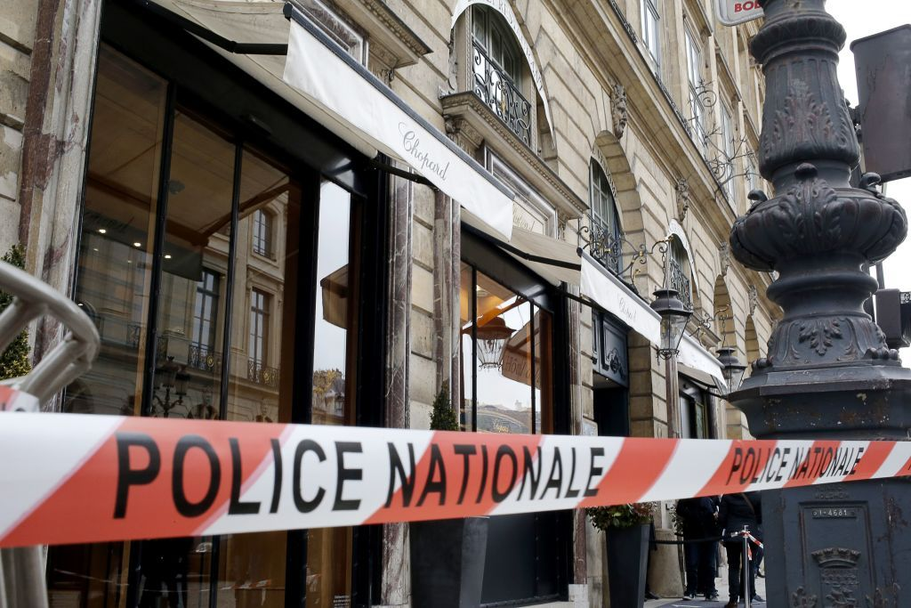Paris Police Tape
