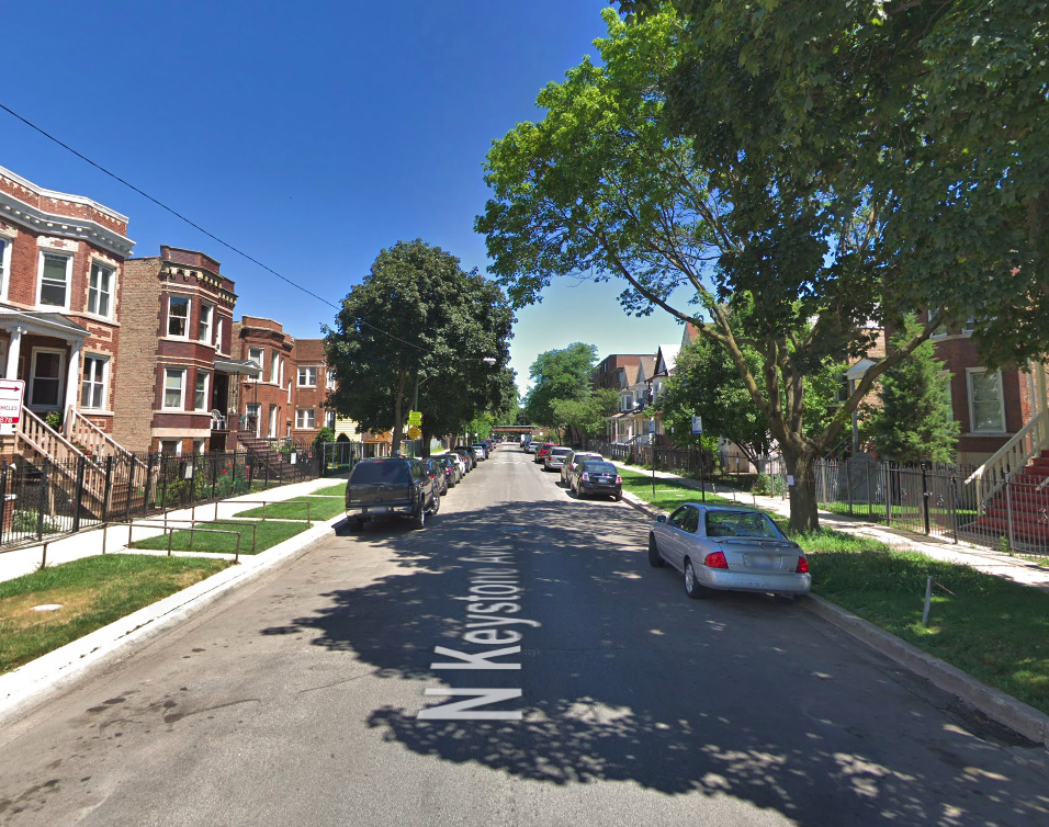 1700 block of North Keystone Avenue
