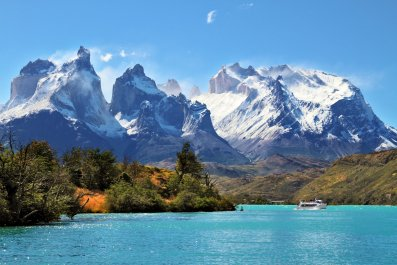 patagonia National Park Torres del Paine Chile getty stock