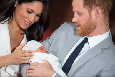 Baby Sussex, Meghan Markle, Twitter