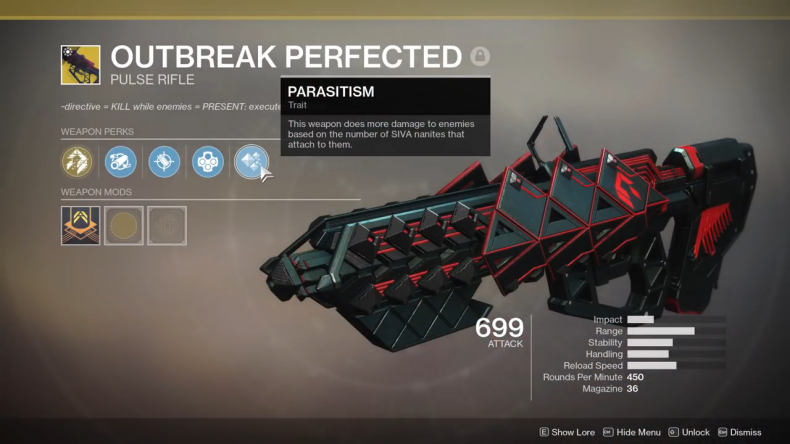 Outbreak Perfected Stats