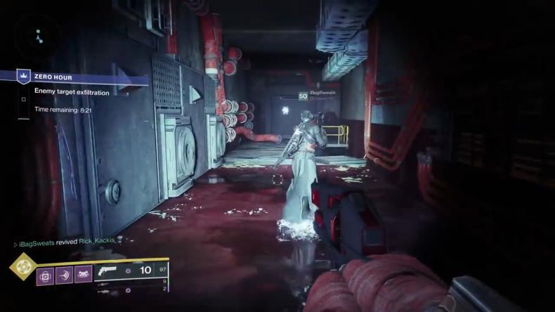 destiny 2 outbreak prime staircase room