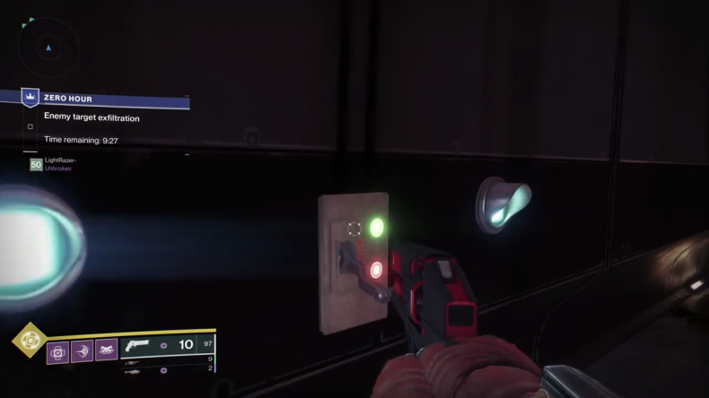 destiny 2 outbreak prime ventilation switch