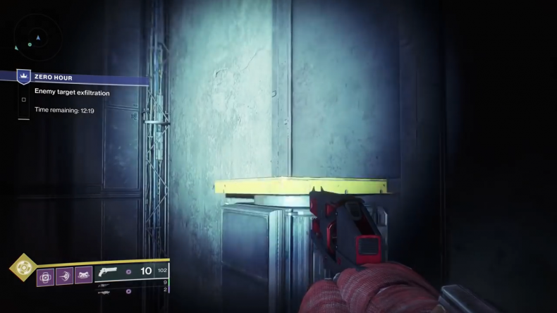 destiny 2 outbreak prime yellow platforms