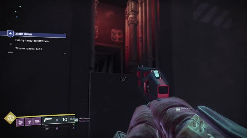 destiny 2 outbreak prime door jump left