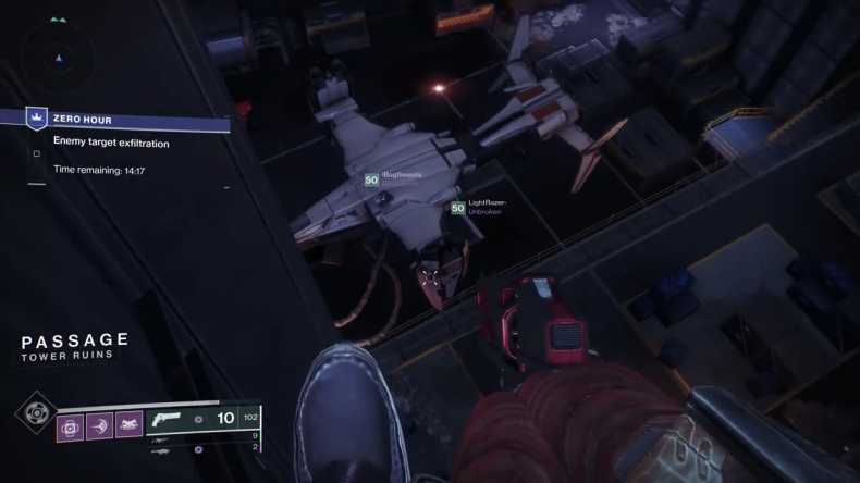 destiny 2 outbreak prime ship