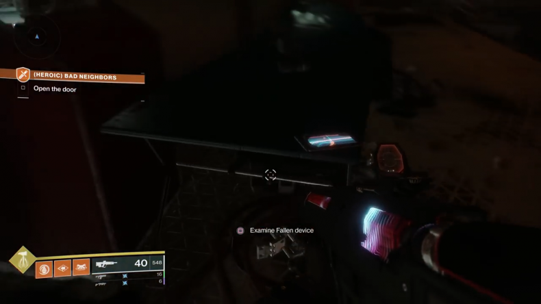 destiny 2 outbreak prime fallen device