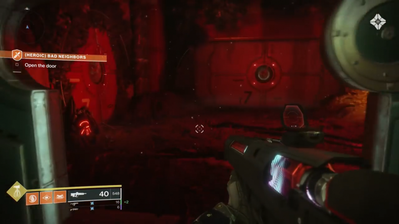 destiny 2 outbreak prime heroic red door