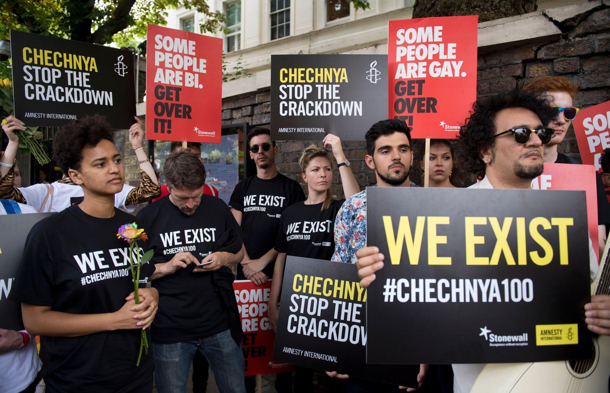 Chechnya gay rights