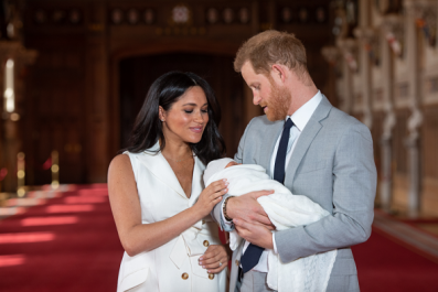 Meghan Markle and Prince Harry's Son Archie's Has One of the Most Popular Baby Names of 2019