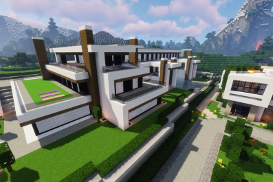 Modern, minecraft, houses, ideas, crafting, best, builds, may, 2019, crafting, home