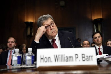 William Barr held in contempt by House Judiciary Committee