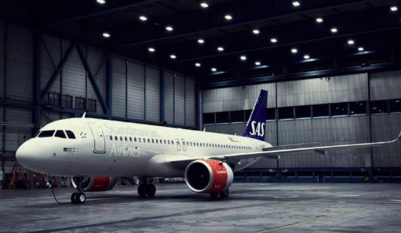 4 SAS Scandinavian Airlines