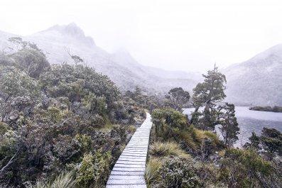 mountain hike cradle mountains