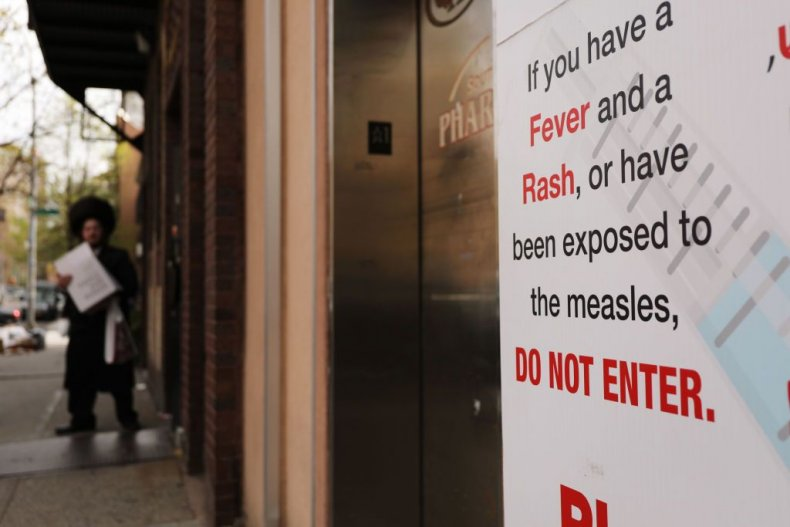 Measles Vaccination Order Williamsburg